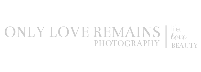 Houston Maternity & Newborn Photographer | Only Love Remains Photography logo